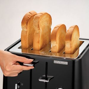 Black Aspect 4 Slice Toaster