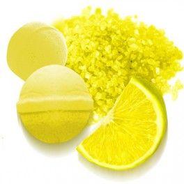 Tinte amarillo lim n para hacersales y bombas de ba o - Bombas de bano primor ...