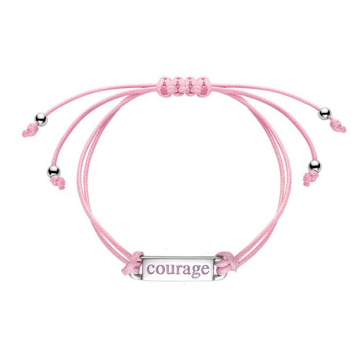 Bracelet pour la sensibilisation au cancer du sein : Les