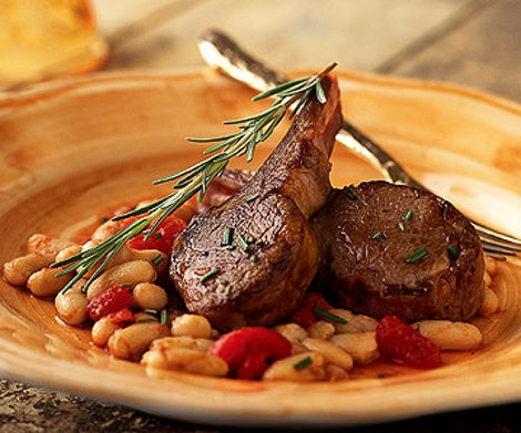 how to cook lamb chops on a skillet