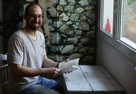 O Βασίλης Μπαρούτης στο Εργαστήρι του συγγραφέα #book #writer #vivlio http://fractalart.gr/vasilis-baroutis/