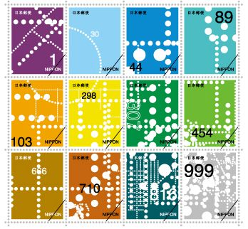 Japan - Technology Stamps