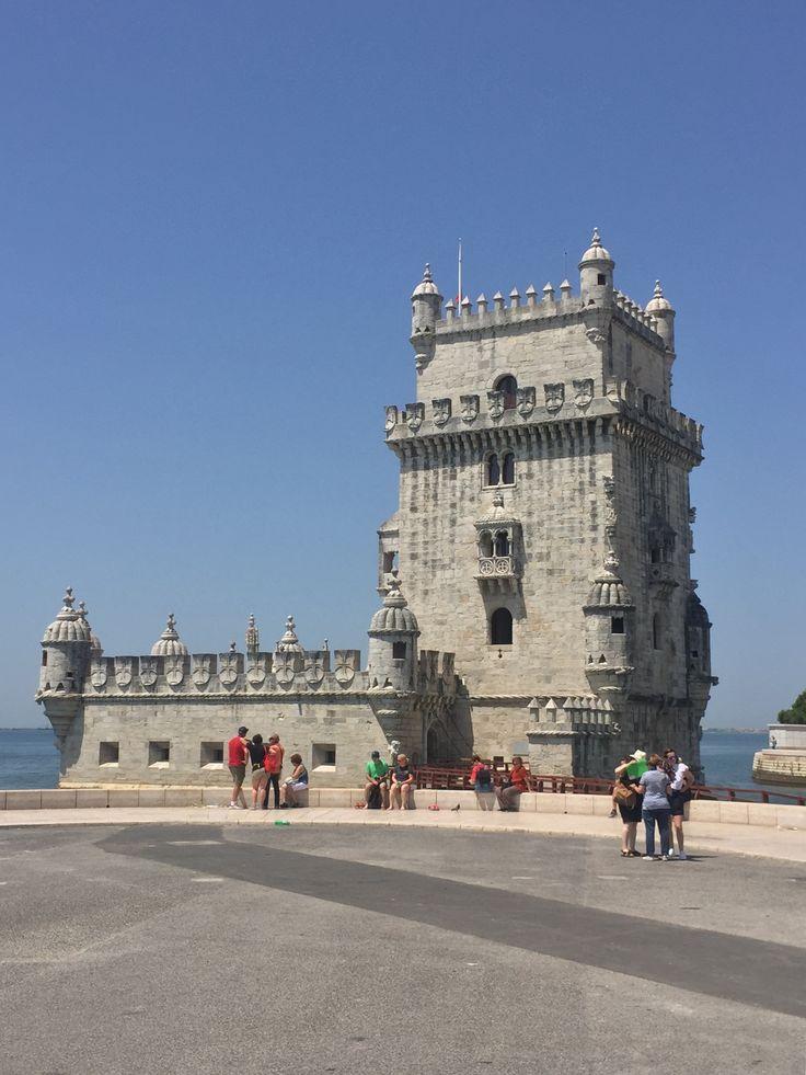 Lissabon , Torre de Belem