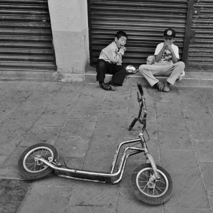 """In Mexico a scooter is called """"patin del diablo"""" or devil's skate."""