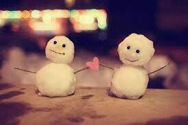 Sneeuwpoppen love