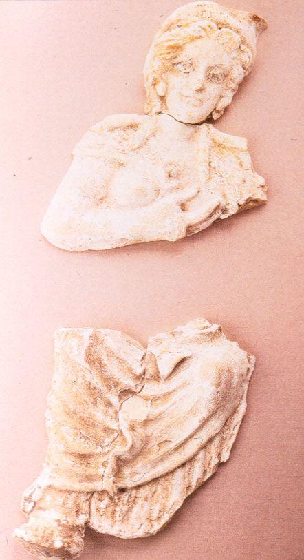 Исида, кормящая Гарпократа, фрагмент, римский период (I-III вв. н.э. Phoebe Apperson Hearst Museum of Anthropology, Беркли, Калифорния
