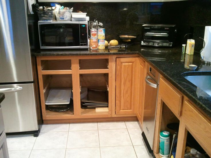 This Is The Cabinet I M Converting To House Built In Microwave Note