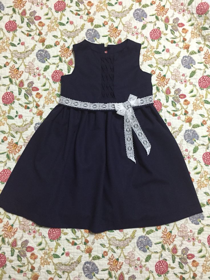 a one-piece dress for my daughter,an entrance celemony of elementary school, Japan