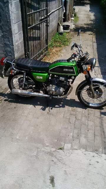Lapak Motor Klasik CB200 Mas Yudi - JOGJA - LAPAK MOBIL DAN MOTOR BEKAS