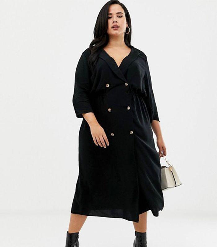 ASOS Midi Shirt Dress | Celebrities & Trendsetters in 2019
