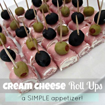http://spoonful.com/recipes/15-thanksgiving-appetizers#carousel-id=photo-carousel&carousel-item=12. Cream Cheese Roll Ups