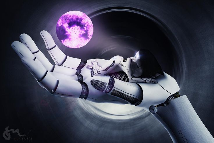 One of my most extensive photoshop manipulatons. This image is actually a merger of two complex xomposites all done inside photoshop. One is the photoshop manipulation of the hand and the other of the model. Hand model; Asuka / cyborg model: Eccaia. You can watch both manipulations on my Youtube channel:  <a href=https://www.youtube.com/watch?v=v8Mjx_Hclio&index=10&list=PLJrcFnBj2iIgCygT8gsH0SI5EeGxCSKNx>hand photoshop manipulation</a> & <a…