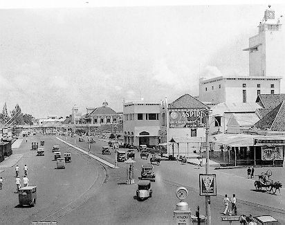 Alun-alun Straat (Jalan Pahlawan Surabaya), 1930