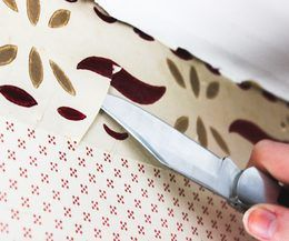 Easiest Way to Take Off a Wallpaper Border | eHow