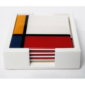 Dessous de verre Mondrian