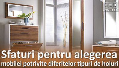 Sfaturi pentru alegerea mobilierului pentru hol
