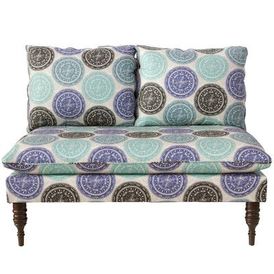 Medallion Armless Chaise Lounge - http://delanico.com/chaise-lounges/medallion-armless-chaise-lounge-664481832/
