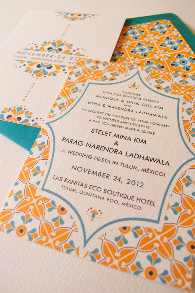 Invitations « Lizzy B Loves | Unique Paper Ephemera – Wedding Invitations, Mexican Wedding ...