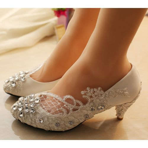Best 10 Low heel wedding shoes ideas on Pinterest Sexy wedding