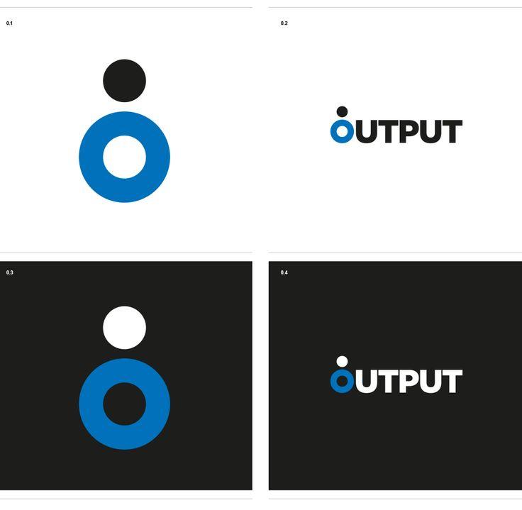 Logo design for a OUTPUT club in Sarzana (SP).
