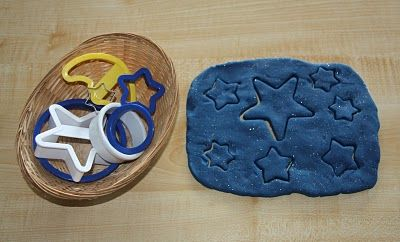 Outer space trays/activities