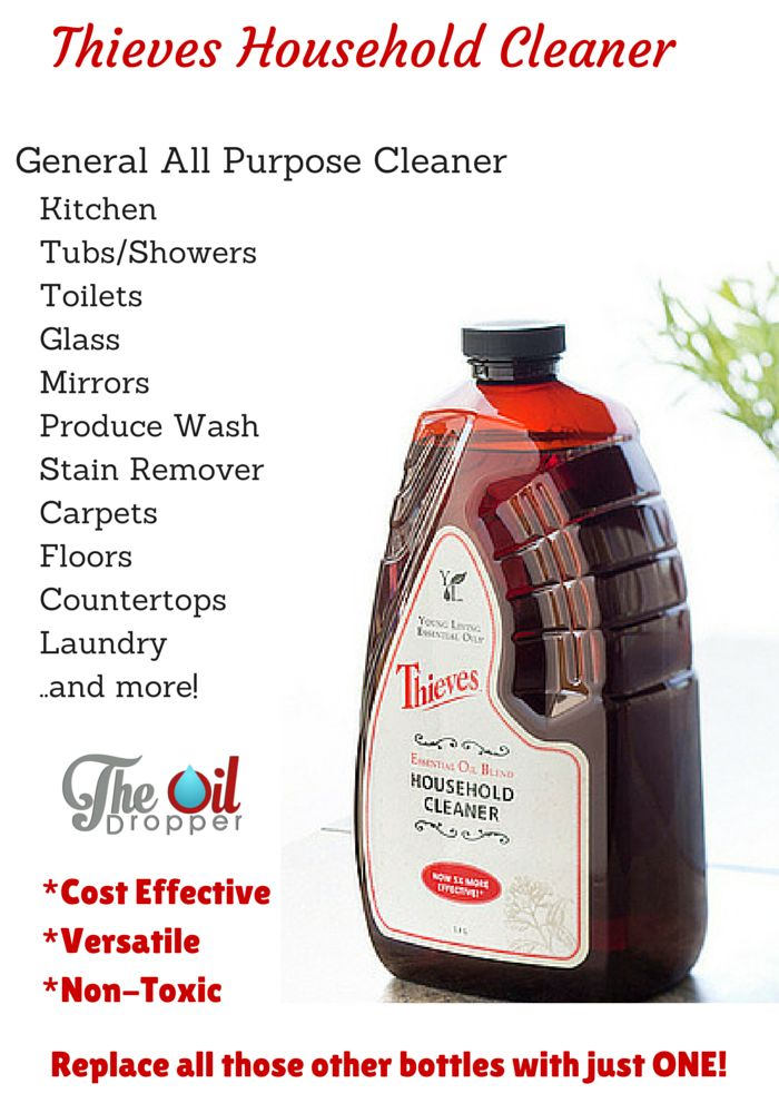 Best 25 Thieves Household Cleaner Ideas On Pinterest