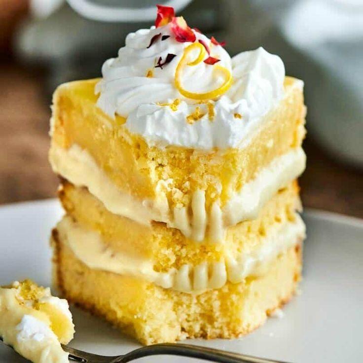 Keto lemon cake the big mans world recipe healthy