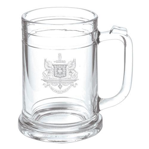 Campus Classics - Psi Upsilon Keepsake Glass Mug: $12.95