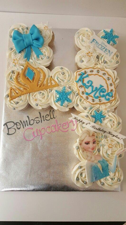Frozen cupcakes pull apart cake
