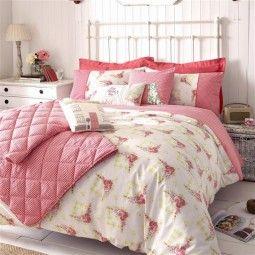 Loving this...Kirsty Allsopp Gingham Rose Bedding