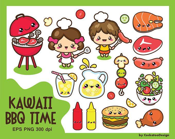 Kawaii kitchen clipart, kawaii cooking clip art, cute ...