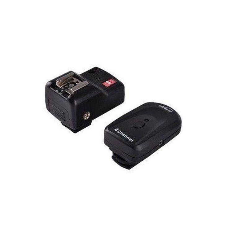 Радиосинхронизатор NiceFoto PT-04NE (433 Mhz, 4 канала) с отверстием для фотозонта