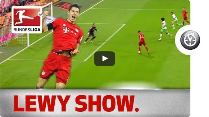 9-minutowy cud Lewandowskiego w meczu Bayern Monachium vs VFL Wolfsburg • Robert Lewandowski i jego 5 goli w 9 minut • Zobacz film >> #lewandowski #bayern #bayernmunich #bundesliga #goals #football #soccer #sports #pilkanozna #futbol