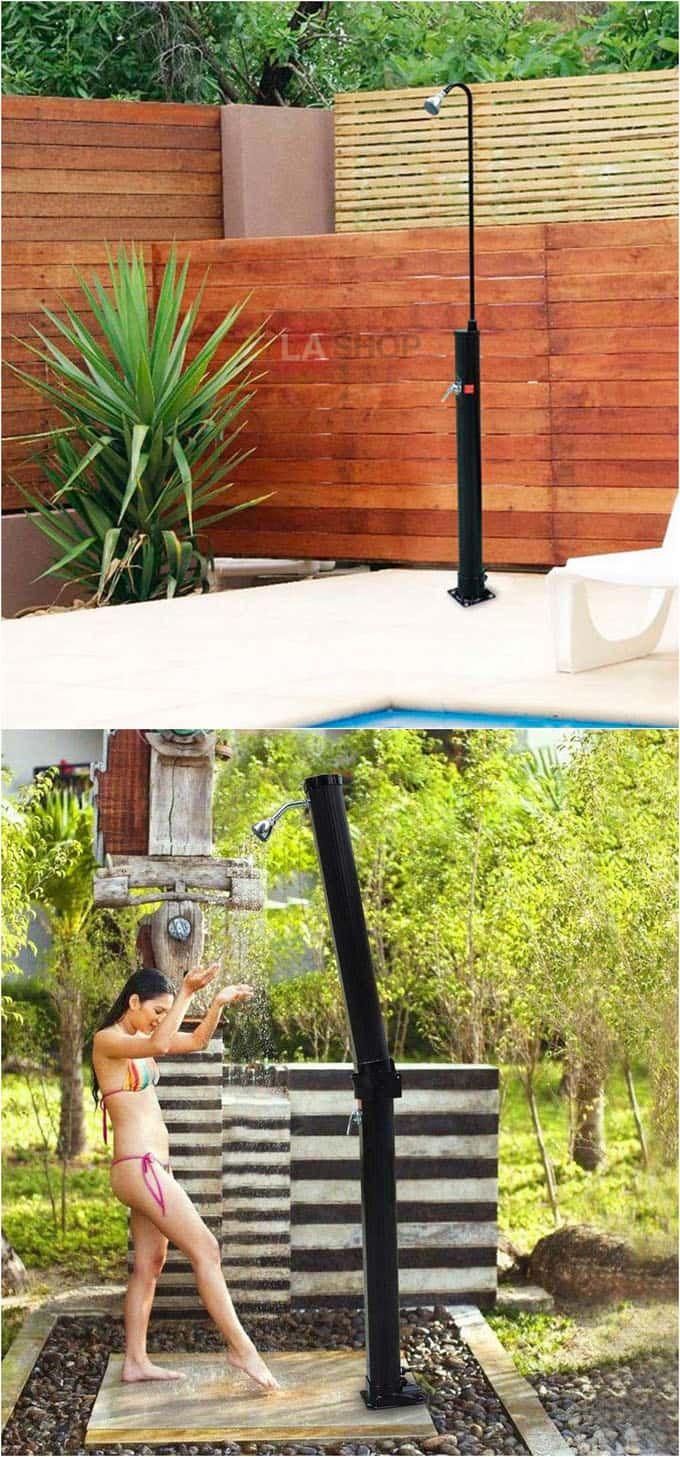 Best 25 outdoor shower fixtures ideas on pinterest for Outdoor shower tower