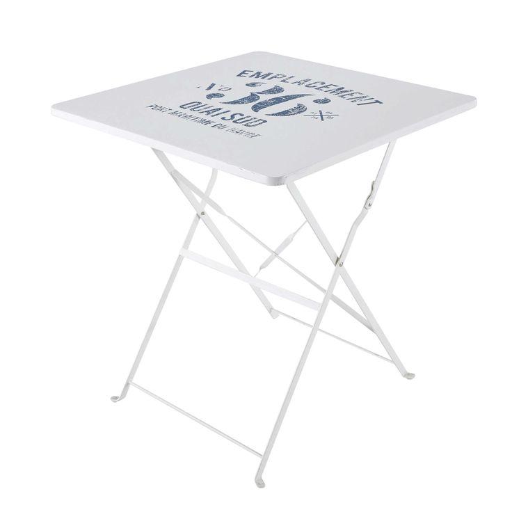 Fabulous Klappgartentisch aus Metall B cm wei Jetzt bestellen unter https moebel ladendirekt de garten gartenmoebel gartentische uid uddaab ae fd