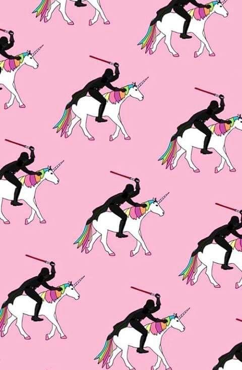 Imagem de unicorn and wallpaper, papel de parede, unicórnio