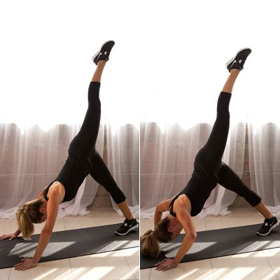 Reclining Circle - The Ultimate Arms and Abs Workout - Shape Magazine - Page 9Ultimate Arm, Upper Body, Arm Workout, Body Workout, Cores Workout, Shoulder Pushup, Ab Workouts, Shape Magazines, Arm And Ab