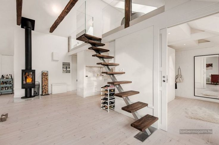 Tetőtéri lakások: 76nm, nyitottság, fény, galéria, terasz