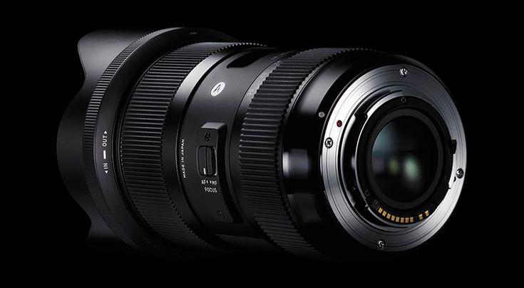 Sigma lanseaza 18-35mm, primul obiectiv zoom cu diagragma constanta la f1.8 pe toata distanta focala- Photosetup