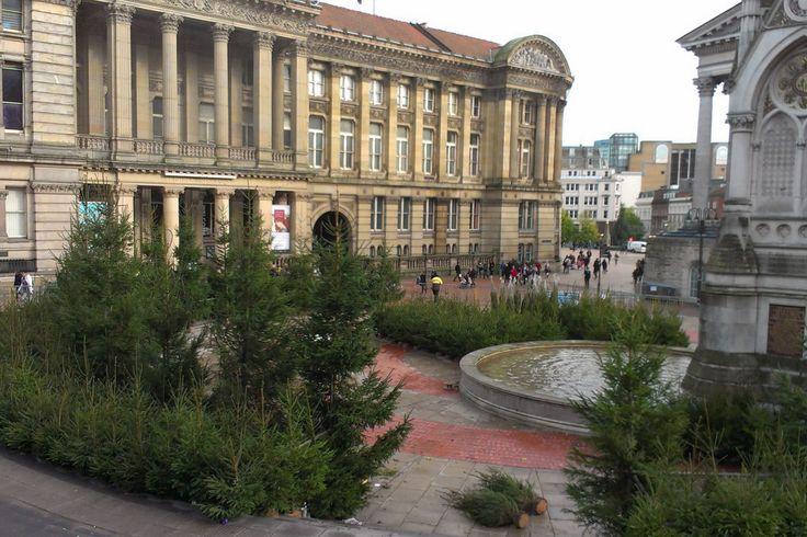 Birmingham German Christmas Market preparations begin in city centre #Birmingham http://www.birminghammail.co.uk/news/local-news/birmingham-german-christmas-market-preparations-6260402