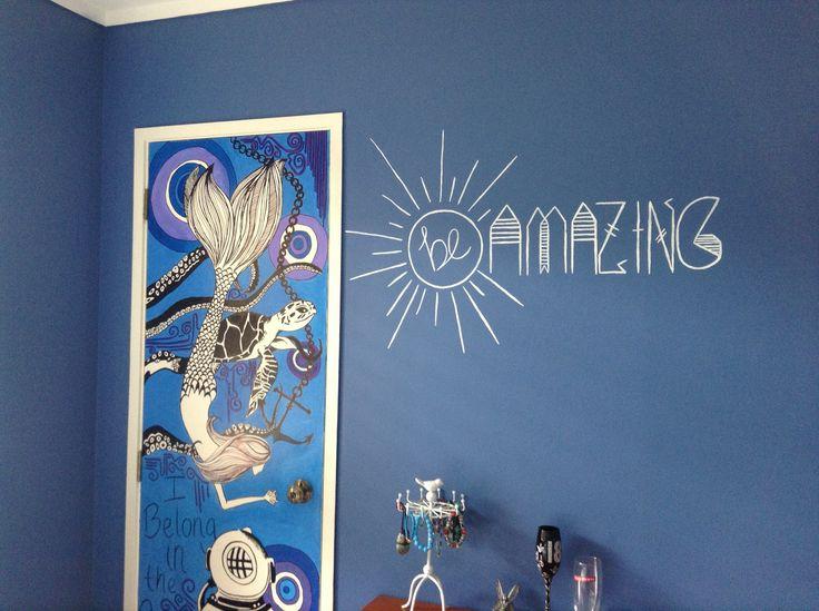 I painted my wardrobe :)
