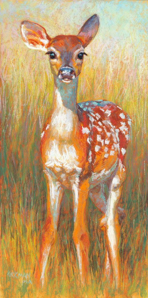"""""""Springtime Serenade"""" (pastel, 20x10 inches) $690 unframed for a limited time   Sllloooowly working on two new large paintings for the A..."""