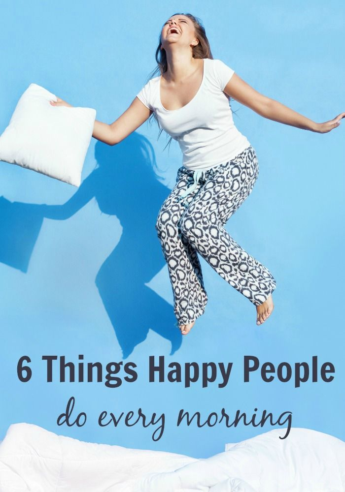 The secret to being happy is all about how you start your day. Here are 6 things happy people do every morning. Happy morning, happy life!