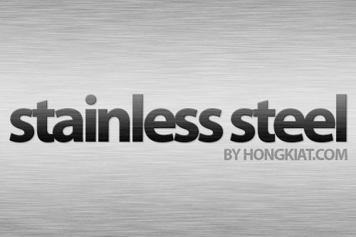 Design Realistic Stainless Steel Background and Text [Photoshop Tutorial]