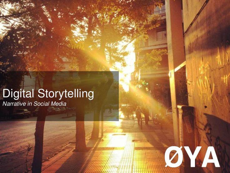 Social Media World 2013 - Σωτηροπούλου Νίκη: Digital Storytelling