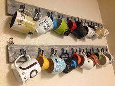 A Light That Shines: Coffee Mug Racks