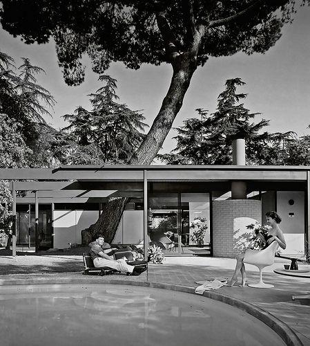 1958 --- Case Study House #20 (Bass House)