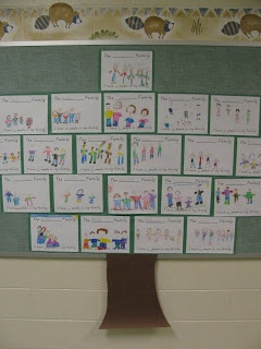 First Grade Gallery- Lessons for Little Learners: Our Family Tree