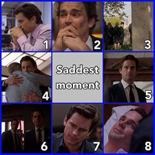 Instagram photo by whitecollar_quotes - Just letting u know, Kate's death isn't on this list because it won the last time. So now for my 400th post, here's the 2nd to last category for the 2nd white collar awards! Now it's time to vote for what you think is the saddest Neal moment! Comment 1 for the shaking Comment 2 for Neal at his apartment Comment 3 for Ellen's funeral Comment 4 for James leaving Comment 5 for Neal's final time seeing his father Comment 6 for finding out Rebecca's a…