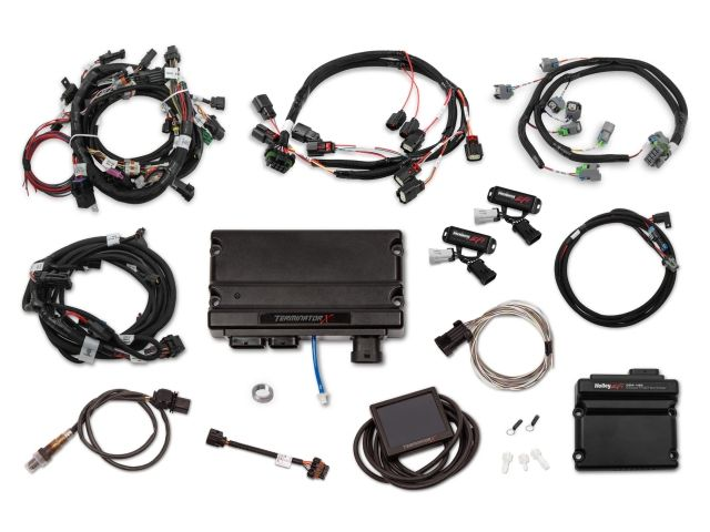 Holley Efi Terminator X Mpfi Kit W Ev6 Injector Harness 2011 2012 Ford 5 0l Coyote 550 1211 Holley Efi Map Sensor Engine Control Unit